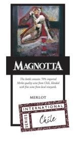 Magnotta Chile Merlot