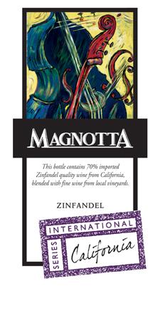 Magnotta Zin
